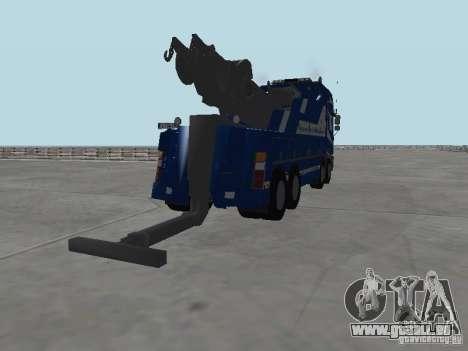 MAN F2000 (mit CLEO-Skript) für GTA San Andreas Innen