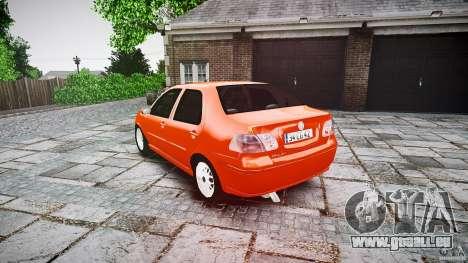 Fiat Albea Sole für GTA 4 hinten links Ansicht