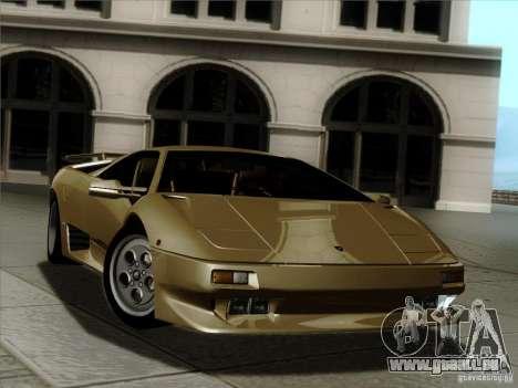 Lamborghini Diablo VT 1995 V3.0 für GTA San Andreas Motor