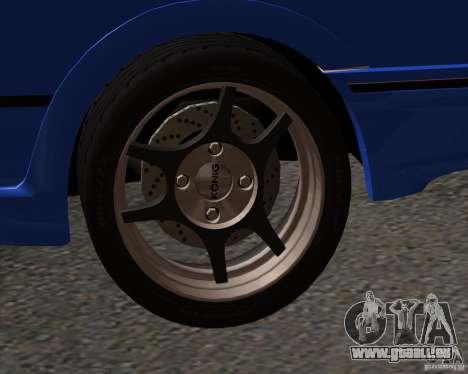 Z-s wheel pack pour GTA San Andreas deuxième écran