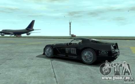 Dodge Viper Competition Coupe pour GTA 4 est un droit