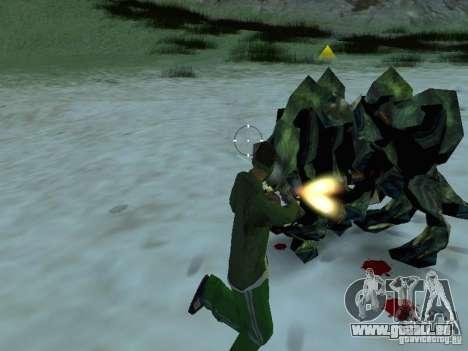 Unterwasser Monster für GTA San Andreas sechsten Screenshot
