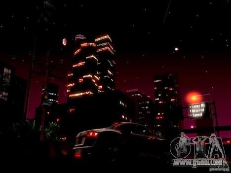 Ciel étoilé V 2.0 (solo) pour GTA San Andreas deuxième écran