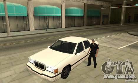 Moteur marche/arrêt phares et portes pour GTA San Andreas troisième écran