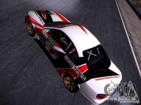 Nissan Silvia S15 DragTimes v2 für GTA San Andreas Rückansicht