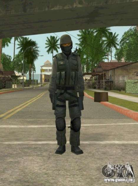 Counter-terrorist für GTA San Andreas