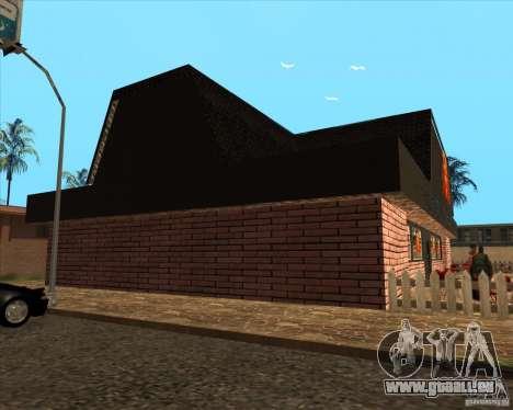 Nouvelle pizzeria dans IdelWood pour GTA San Andreas troisième écran