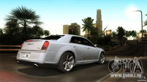 Chrysler 300C V8 Hemi Sedan 2011 pour GTA San Andreas vue de dessous