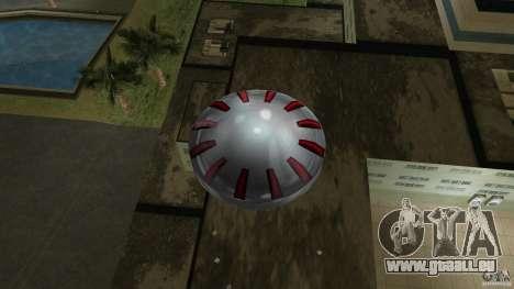 Ultimate Flying Object pour GTA Vice City vue arrière