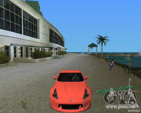 Nissan 370Z pour une vue GTA Vice City de la gauche