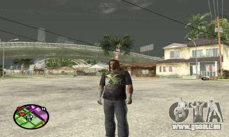 Triple H pour GTA San Andreas deuxième écran