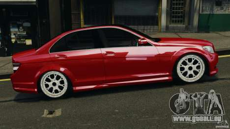 Mercedes-Benz C350 Avantgarde v2.0 für GTA 4 linke Ansicht