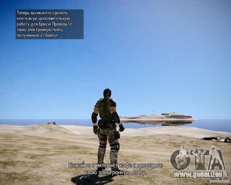 Chris from Resident Evil 5 für GTA 4 siebten Screenshot