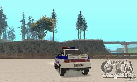 VAZ 2110 DPS für GTA San Andreas linke Ansicht