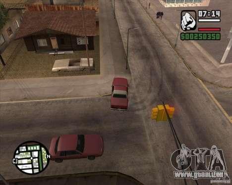Caméra comme dans GTA Chinatown Wars pour GTA San Andreas neuvième écran