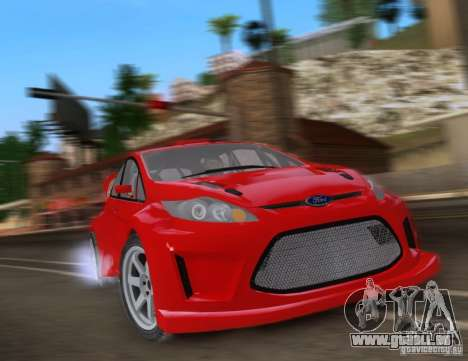 Ford Fiesta für GTA San Andreas linke Ansicht
