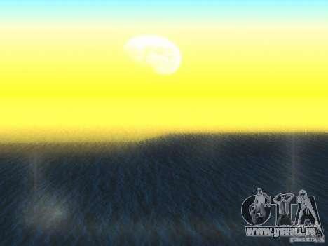 Eau HQ pour GTA San Andreas deuxième écran
