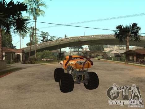 Monster Mutt pour GTA San Andreas sur la vue arrière gauche