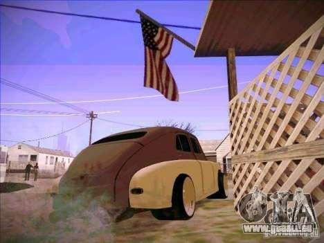 GAZ m 20 premiers 1956 pour GTA San Andreas sur la vue arrière gauche