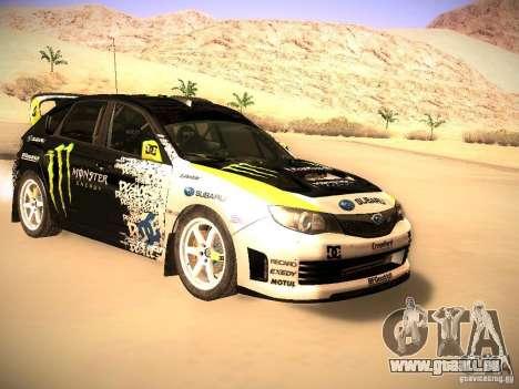 Subaru Impreza Gymkhana für GTA San Andreas