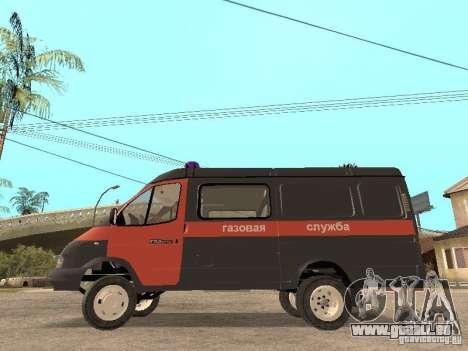 2705 Gazelle Gas service für GTA San Andreas