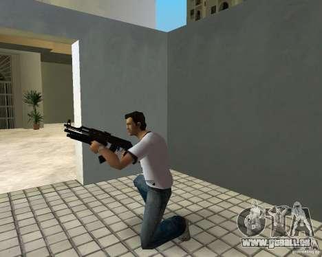 AK-47 mit Underbarrel Schrotflinte für GTA Vice City sechsten Screenshot