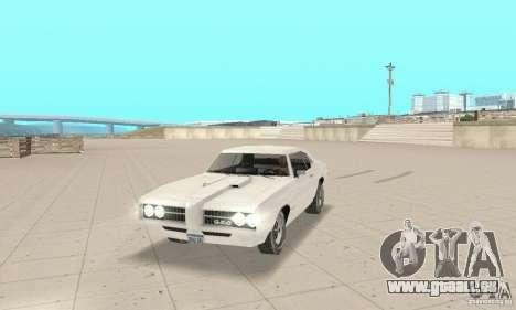 Pontiac GTO 1969 stock für GTA San Andreas