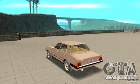 Ford Taunus 1978 für GTA San Andreas zurück linke Ansicht