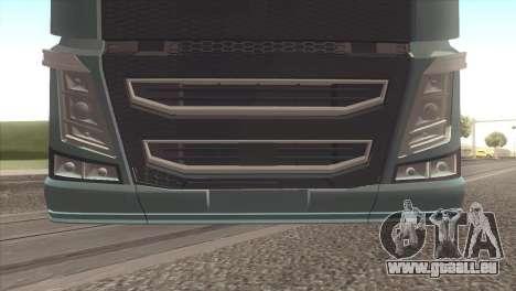 Volvo FH 2013 pour GTA San Andreas vue de droite