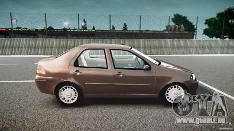 Fiat Albea Sole (Bug Fix) pour GTA 4 Vue arrière
