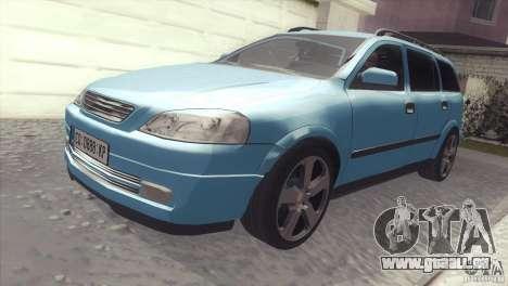 Opel Astra 1999 für GTA San Andreas rechten Ansicht