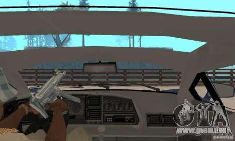 Jaguar XJ220 pour GTA San Andreas vue arrière