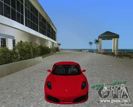 Ferrari F430 für GTA Vice City zurück linke Ansicht