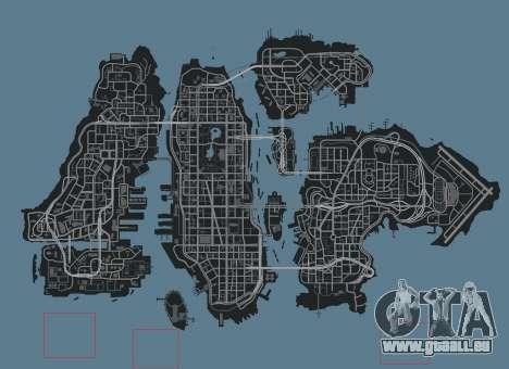 Paysage de montagne pour GTA 4 quatrième écran