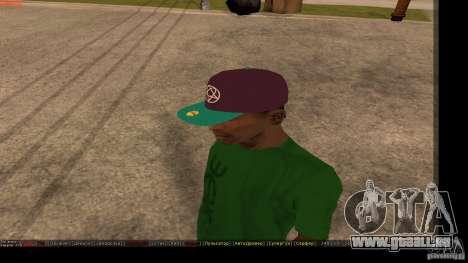 Casquette avec le logo du groupe HIM pour GTA San Andreas