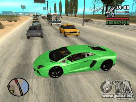 Automobile Traffic Fix v0.1 für GTA San Andreas dritten Screenshot