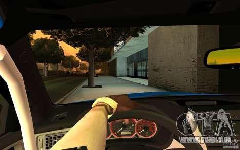 Subaru Impreza WRX STI 2008 Tunable pour GTA San Andreas vue de droite
