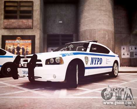 Dodge Charger 2010 NYPD ELS pour GTA 4