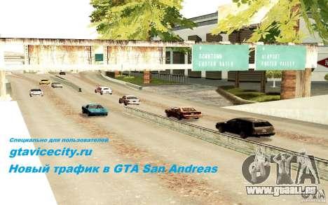 Un nouvel algorithme pour la circulation automob pour GTA San Andreas