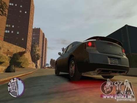 Dodge Charger SRT8 2007 FBI pour GTA 4 est une gauche