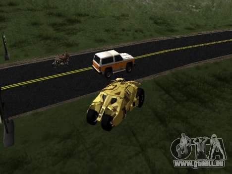 Army Tumbler v2.0 pour GTA San Andreas
