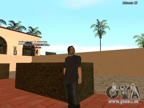 HD Skins personnel pour GTA San Andreas troisième écran