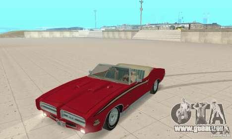 Pontiac GTO The Judge Cabriolet pour GTA San Andreas