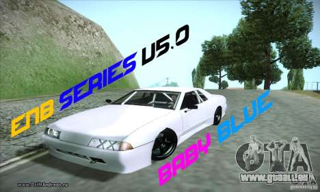 ENBSeries v5.0 Baby Blue pour GTA San Andreas