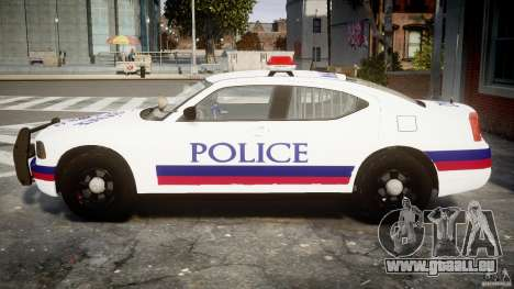 Dodge Charger Karachi City Police Dept Car [ELS] für GTA 4 linke Ansicht