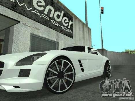 Luxury Wheels Pack pour GTA San Andreas troisième écran