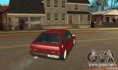 VAZ 2108 Maxi pour GTA San Andreas laissé vue