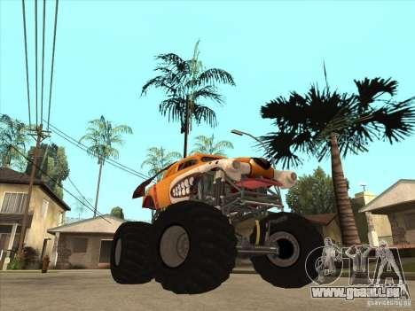 Monster Mutt für GTA San Andreas Rückansicht