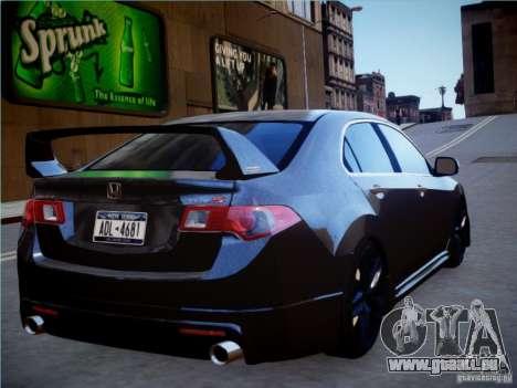 Honda Accord Mugen pour GTA 4 est une gauche
