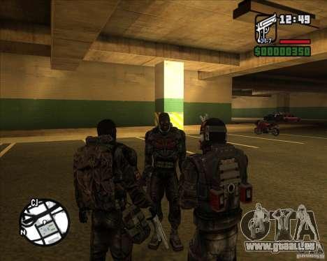 Groupe de stalkers dette pour GTA San Andreas troisième écran